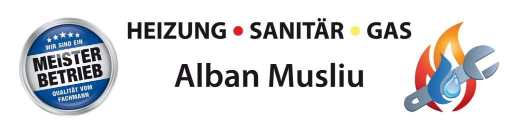 Alban Musliu Installateur- und Heizungsbauermeister Logo